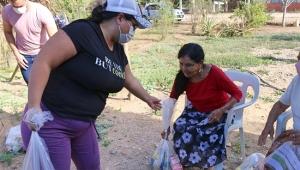 Lleva DIF Vallarta apoyo alimentario a adultos mayores