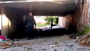 Amanece cuerpo colgado bajo un puente en Puerto Vallarta