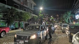 Se ve, se siente ... policías intensifican vigilancia en Puerto Vallarta