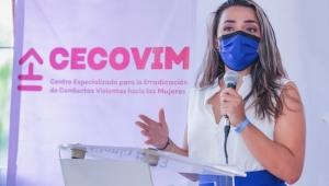 Inauguran Centro Especializado para la Erradicación de Conductas Violentas hacia las Mujeres