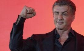 Sylvester Stallone visita México para presentar 'Rambo 5'