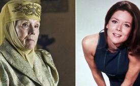"""Murió Diana Rigg, legendaria actriz británica de """"Los vengadores"""" y """"Game of Thrones"""""""